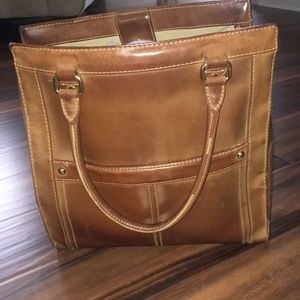 Vintage J. Crew Leather Purse